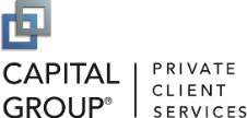 Capital Group Private Client Services